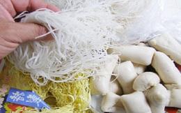 Mì căn, hủ tiếu khô… có chất gây sỏi thận