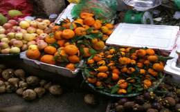 Phát hiện củ cải, quýt, cà rốt nhiễm độc
