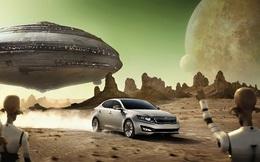 Quảng cáo ô tô của KIA : Từ Poseidon đến người ngoài hành tinh đều thèm muốn