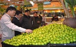 Siêu thị BigC, Ocean mart: Bày bán hàng chục loại rau chưa rõ nguồn gốc