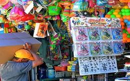 Thị trường đồ chơi trẻ em: Chống đỡ yếu ớt