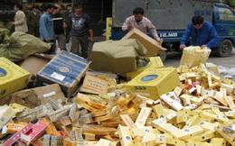 Thuốc lá lậu gây thất thu khoảng 6.500 tỉ đồng/năm