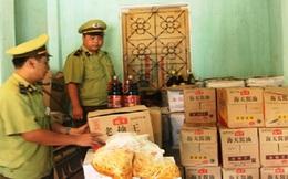 Tạm giữ 1,2 tấn hóa chất Trung Quốc nhập lậu