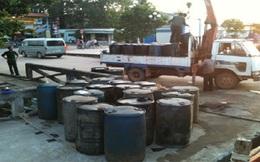 Tịch thu 18.000 lít dầu nhập lậu