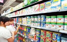 Sức mua mặt hàng sữa sụt giảm