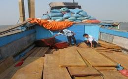 Tịch thu lô gỗ nhập lậu trị giá trên 1,3 tỷ đồng