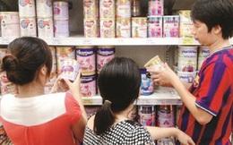 Áp trần giá sữa: Nhiều dòng sữa giảm giá mạnh
