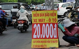 Lập lờ bảo hiểm xe máy
