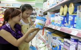 182 mặt hàng sữa có trần giá bán lẻ