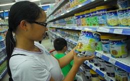 Sản phẩm có thành phần sữa gọi là sữa