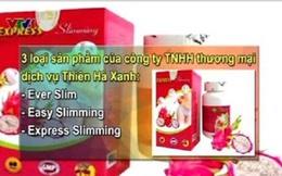 Thu hồi giấy xác nhận ATTP với 3 loại sản phẩm giảm cân