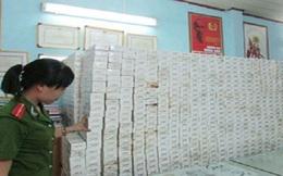 Bắt vụ buôn lậu thuốc lá lớn nhất tại TP.HCM