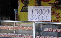 Bánh Trung thu ế cả tháng vẫn vô tư bày bán
