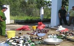 Tiêu hủy hơn 1.800 chai rượu ngoại lậu trị giá hàng tỷ đồng