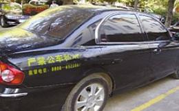 """Chống """"tham nhũng"""" xe công kiểu mới ở Trung Quốc"""