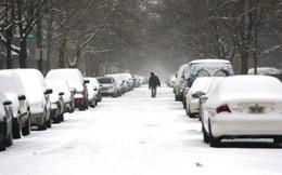 Bão tuyết dữ dội ở Mỹ vào đầu năm 2014