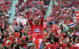 Phe áo đỏ Thái Lan biểu tình chống lại biểu tình