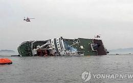 Chìm tàu chở 325 học sinh ở Hàn Quốc