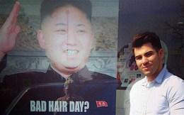 """Triều Tiên phẫn nộ vì ảnh quảng cáo """"kiểu tóc Kim Jong-Un"""""""