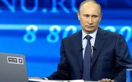 Ông Putin nhận được 2,5 triệu câu hỏi của người dân Nga