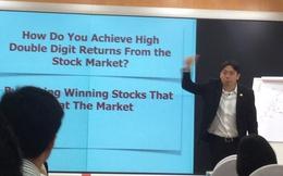 """Adam Khoo: """"Đừng coi Thị trường chứng khoán là một canh bạc"""""""