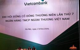 [Trực tiếp] ĐHCĐ Vietcombank: Sẽ chia cổ phiếu thưởng 15% vào tháng 7