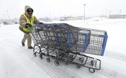 """Kinh tế Mỹ """"đóng băng"""" theo thời tiết"""