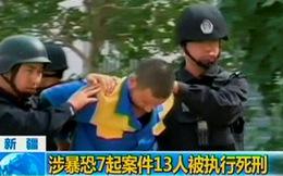 Lại tấn công ở Tân Cương, 13 người bị bắn chết
