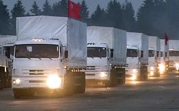 Xe cứu trợ nhân đạo của Nga không được vào Ukraine