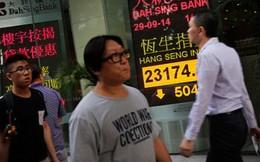 Chứng khoán châu Á đồng loạt giảm điểm vì Hồng Kông