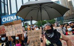 Hồng Kông đón quốc khánh trong biểu tình