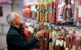 Đồng Ruble trượt dài, giá thực phẩm ở Nga tăng chóng mặt