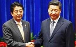 Ông Tập Cận Bình, Abe lần đầu tiên gặp chính thức