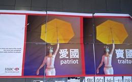 """Ngân hàng HSBC """"bị lôi vào"""" biểu tình ở Hồng Kông"""
