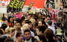 Mỹ: Doanh thu trong dịp lễ Tạ ơn năm 2014 giảm mạnh