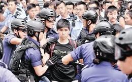Hình ảnh thủ lĩnh sinh viên Hồng Kông gây sốt