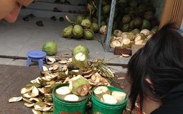 Dừa tẩy trắng độc hại