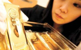 Giá vàng tăng vọt lên 1.415 USD/ounce
