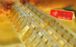 Giá vàng xuống 37,4 triệu đồng/lượng