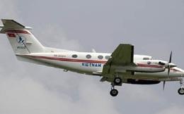 Máy bay King Air của Vietnam Airlines gặp sự cố khi hạ cánh