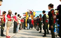 Sân bay Nội Bài đón hành khách thứ 12 triệu của năm