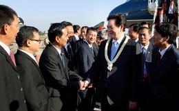 Thủ tướng Nguyễn Tấn Dũng tới Thủ đô Phnom Penh, Campuchia