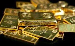 Giá vàng rớt sâu trong đêm giao thừa