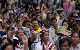 Nông dân Thái Lan biểu tình đòi chính phủ trả tiền mua gạo