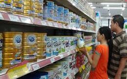 Giá sữa lại tăng