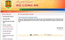 Bộ Công an công bố thông tin tướng Phạm Quý Ngọ qua đời