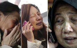 Đau đớn và giận dữ đợi tin máy bay Malaysia mất tích