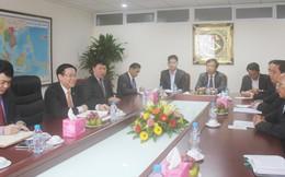 Trưởng Ban Kinh tế Trung ương tiếp Đoàn cấp cao Bộ Tài chính Lào
