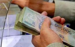 Dự kiến phí rút tiền mặt tại TCTD tối đa là 0,05% tổng giá trị