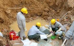 Lần thứ 9 vỡ đường ống nước Sông Đà, 70.000 hộ dân ở Hà Nội lại mất nước